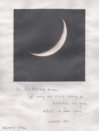 fluttering moon