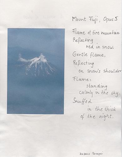 fuji in cloud